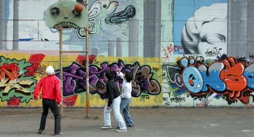 Grafitti Hoops